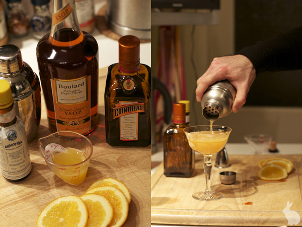 The Calvados Cocktail process